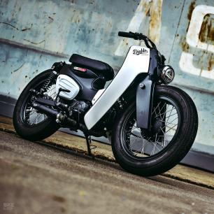 """Honda Super """"Power"""" Cub egyenesen Thaiföldről"""