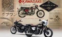 Klasszikus Kawasaki W800 Street és Cafe
