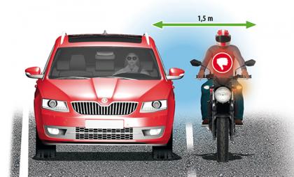 A tíz legveszélyesebb motoros szabálytalanság