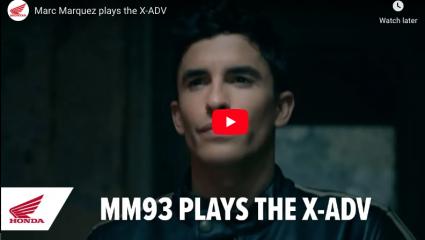 Marc Marquez az X-ADV hangjaival kreált zenét