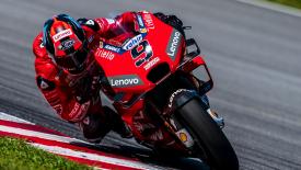 MotoGP teszt Sepang: Vinales behúzta a második napot de már Petrucci van az élen