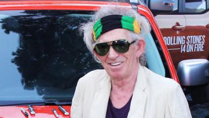Ellopták Keith Richards  motorkerékpár gyűjteményét