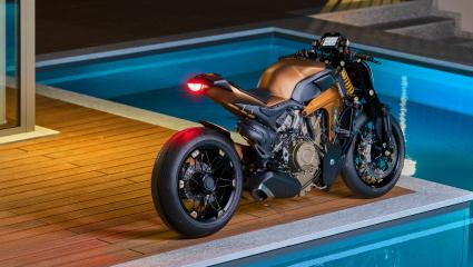 V4 Ducati Streetfighter koncepció egy Olasz tervező irodától