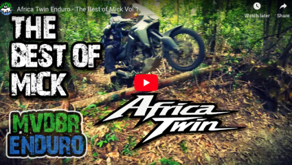 Honda Africa Twin off-road