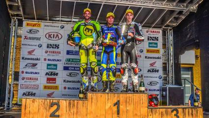 Kovács Bálint dupla dobogóval kezdte az IDM Suzuki Cup sorozatát