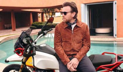 Ewan McGregor a Moto Guzzi nagykövete