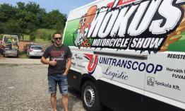 Mókus úton van Németország felé, ahol részt vesz a Freestyle Európa Bajnokság első fordulóján Oschersleben városában.