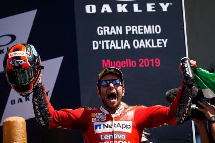 Petrucci behúzta az Olasz Nagydíjat