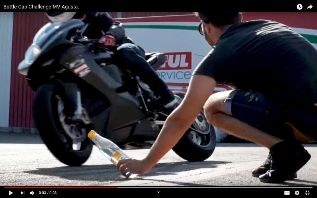 Bottle Cap Challenge MV Agusta
