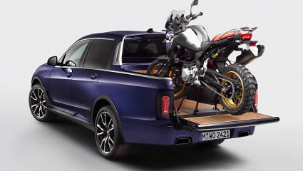 Luxus kiállás maximális terepjáró készségekkel: az egyedi BMW X7 pickup