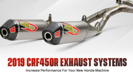 Pro Circuit T-6 kipufogó rendszerek Honda modellekhez