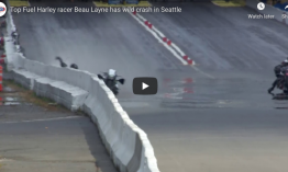 346 km/h sebességnél bukott (VIDEÓ)