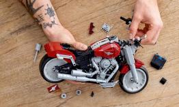Harley-Davidson Fat Boy -  Lego Creator