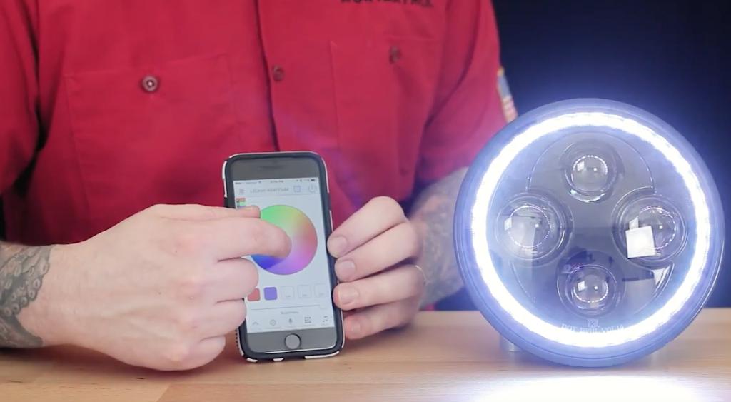 Küryakyn Orbit Prism LED fényszóró