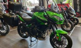 Útra Kész Kawasaki Versys 650 Hatalmas Árelőnnyel Elvihető !!!