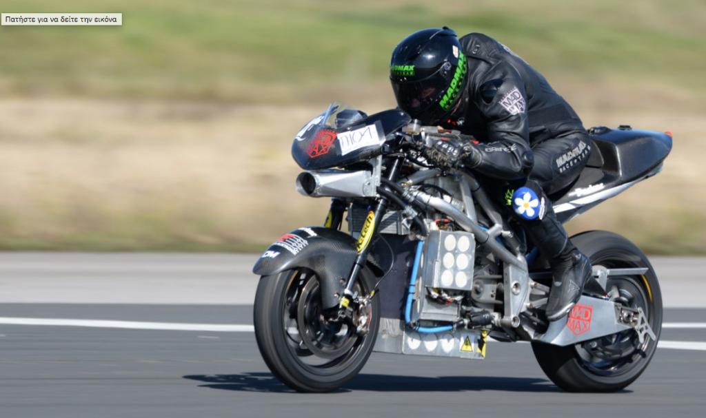 312 km/h az elektromos motorkerékpárok új világrekordja