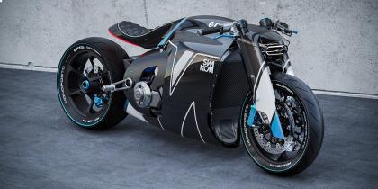 A Citroën tervezője megálmodta a jövő Ducati-ját.