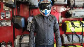 Icon Raiden DKR Monochromatic Kabát Akció a HPMotor-nál