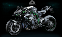 A Kawasaki hivatalosan is bejelentette a kompresszorral szerelt Z modellt
