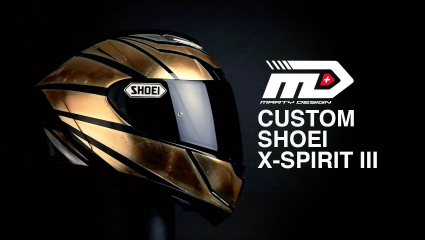 "Marty Design - Shoei X-SPIRIT III ""Bad'r"""