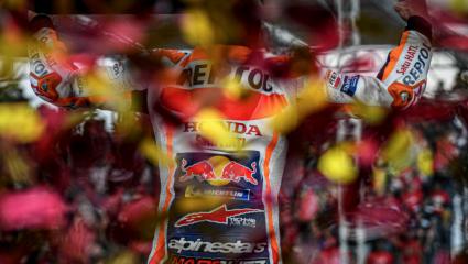 MotoGP: Marquez ismét világbajnok