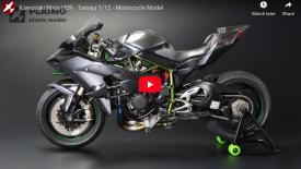 Szeretnél egy Kawasaki H2R modellt a polcodra?