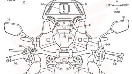 Új Honda Head Up Display szabadalom