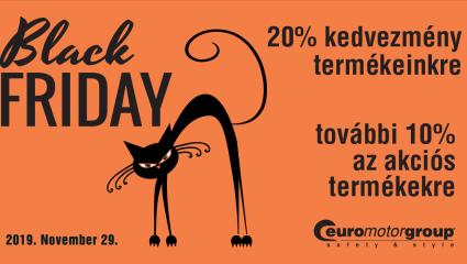 Black Friday november 29-én az EuroMotornál!