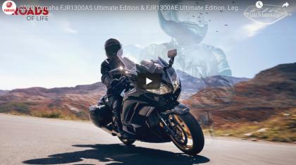 Ultimate Edition érkezik a Yamaha FJR 1300 és az XSR 900 80 Black formájában