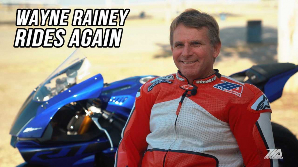 Wayne Rainey újra motoron