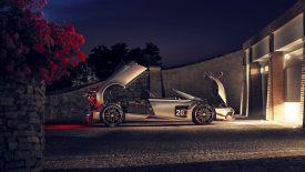 Jorge Lorenzo végre átvehette 2 millió eurós sportkocsiját