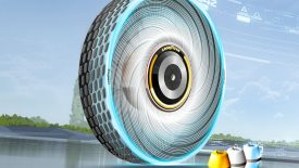 Goodyear gumiabroncs, mely képes regenerálódni