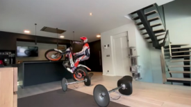 StayHome...like Toni Bou!