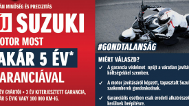 SUZUKI - AKÁR 5 ÉV GARANCIA