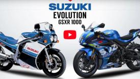Suzuki GSX-R evolúció