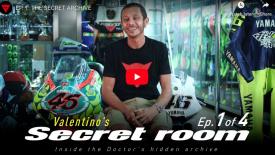 Valentino Rossi és a titkos szoba