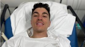 Vinales kórházba került