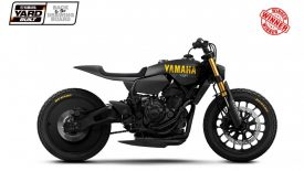 Yamaha XSR700 Disruptive