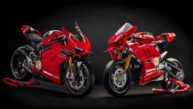 A Ducati és a LEGO bemutatja a Panigale V4 R reprodukcióját