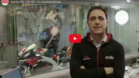 Aprilia RS 250 SP - az első videó