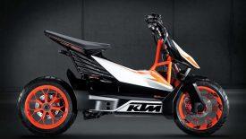 Elektromos robogókat fejleszt a KTM és Bajaj