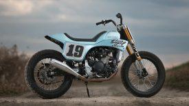 Fantic Cabellero 500 – Ice Blue Racer