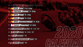 Megjelent a 2020-as WSBK naptár is