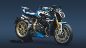 MV Agusta Brutale 1000RR Blue & White ML