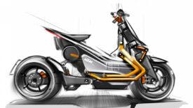 """KTM E-Scooter az """"EMotion"""" Projekt keretében"""