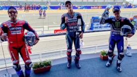 Quartararo megszerezte élete első győzelmét a MotoGP-ben