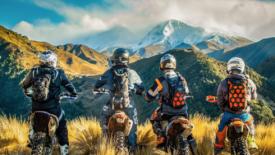 Chris Birch újabb kalandjai Új-Zéland hó födte csúcsain
