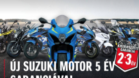 Suzuki akár 5 év garanciával