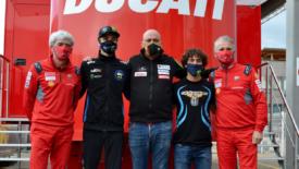 Marini és Bastianini a MotoGP-ben