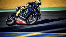 Rossi tesztje negatív, a hétvégén visszatér a pályára